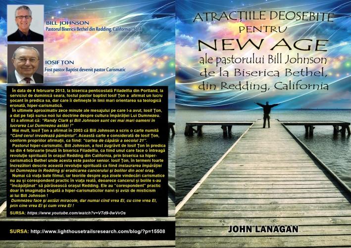 Atractiile deosdebite pentru New Age ale lui Bill Johnson